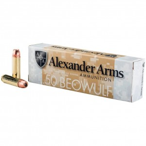 Alexander Arms Rifle 50 Beowulf 20rd Ammo