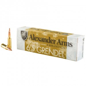 Alexander Arms Rifle 6.5 Grendel 20rd Ammo