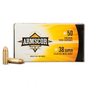 Armscor USA 38 Super 50rd Ammo