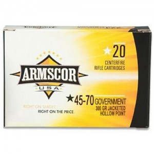 Armscor Hunting 45-70 Government 20rd Ammo