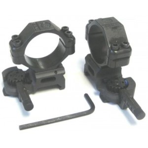 ARMS #22 Mk II Throw Lever Scope 30mm Rings