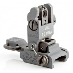 ARMS #40L-SP Stand Alone Flip Up Rear Sight