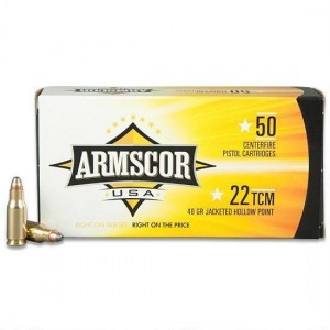 Armscor USA 22 TCM 50rd Ammo