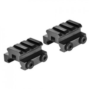 Barska Set of Picatinny Mounts with Rail