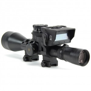 Barrett Optical Ranging System w/ Leupold Mark 4 & Rings