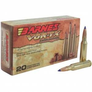 Barnes VOR-TX 7mm-08 Remington 20rd Ammo