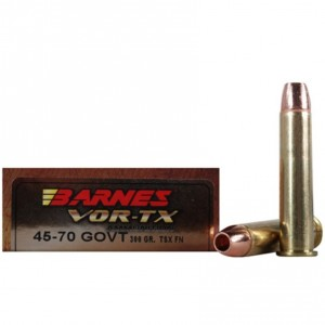 Barnes VOR-TX 45-70 Government 20rd Ammo