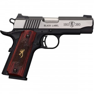 Browning 1911-380 Black Label Medallion Pro Compact 380 ACP