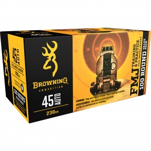 Browning Training & Practice 45 ACP 100rd Ammo