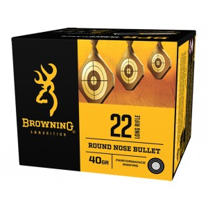 Browning BPR Performance Rimfire 22 Long Rifle 400rd Ammo