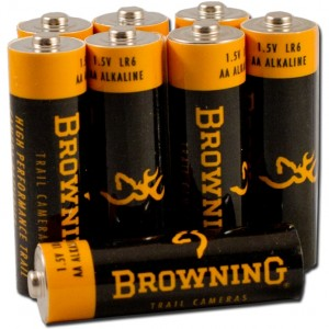 Browning 8 Pack AA Alkaline Batteries