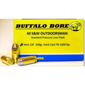 Buffalo Bore Handgun 40 Smith & Wesson 20rd Ammo