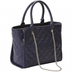 Bulldog Quilted Tote Style Purse with Holster