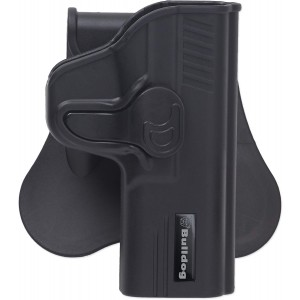 Bulldog Cases Rapid Release Polymer Holster With Paddle