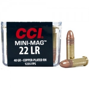 CCI Mini-Mag 22 Long Rifle 100rd Ammo
