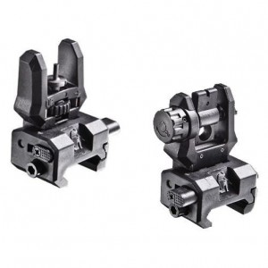 CAA Low Profile Flip-Up Front and Rear Sights