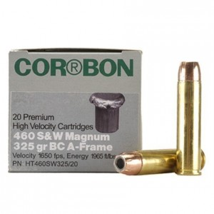CorBon Hunter 460 Smith & Wesson Magnum 20rd Ammo