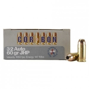 CorBon Self Defense 32 ACP 20rd Ammo