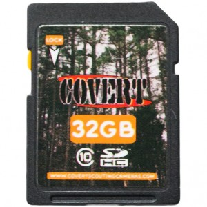 Covert Scouting Cameras 32 GB SD Card