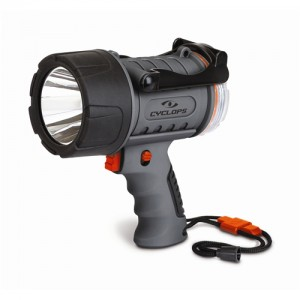 Cyclops Waterproof LED Hand Held Spotlight