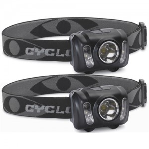 Cyclops 210 Lumen Headlamp 2 Pack