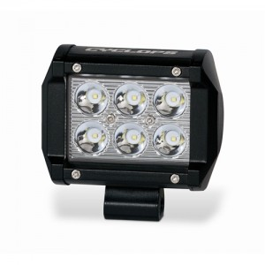Cyclops 6 LED Dual Row Bottom Mount Bar Light