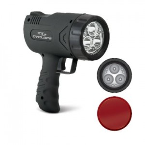 Cyclops Sirius 500 Hand Held Light w/ 6 LED Lights