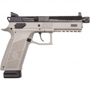 CZ-USA P-09 Urban Grey Suppressor-Ready 9mm Luger