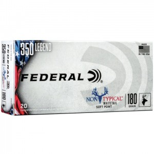 Federal Non-Typical 350 Legend 20rd Ammo