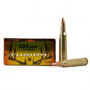 Federal Fusion 223 Remington 20rd Ammo