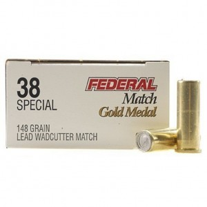 Federal Gold Medal 38 Special 50rd Ammo