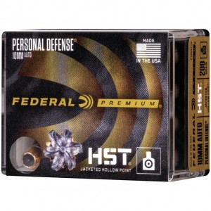Federal Personal Defense 10mm Auto 20rd Ammo