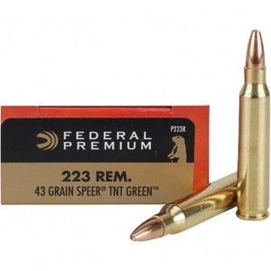Federal V-Shok 223 Remington 20rd Ammo