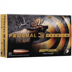 Federal Berger 30-06 Springfield 20rd Ammo