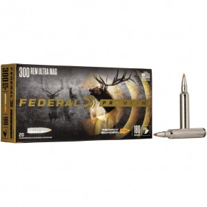 Federal Trophy Bonded Tip 300 Remington Ultra Mag 20rd Ammo