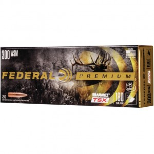Federal Barnes 300 Winchester Short Magnum 20rd Ammo