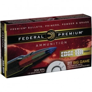 Federal Edge TLR 308 Winchester 20rd Ammo