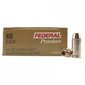 Federal Personal Defense 40 Smith & Wesson 20rd Ammo