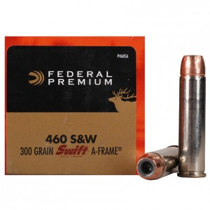 Federal Vital-Shok 460 Smith & Wesson Magnum 20rd Ammo