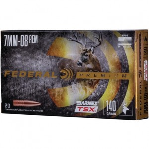 Federal Barnes 7mm-08 Remington 20rd Ammo