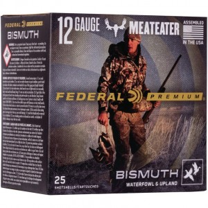Federal Bismuth 12 Gauge 3 Shot 25rd Ammo
