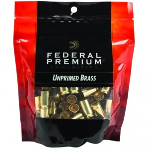 Federal 40 Smith & Wesson Unprimed 100rd Brass