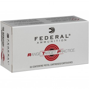 Federal Range Target Practice 38 Special 50rd Ammo