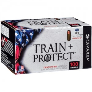 Federal Train + Protect 40 Smith & Wesson 100rd Ammo