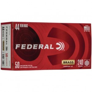 Federal Champion 44 Remington Magnum 50rd Ammo