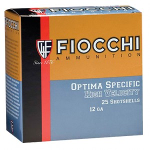 Fiocchi High Velocity 12 Gauge 4 Shot 25rd Ammo