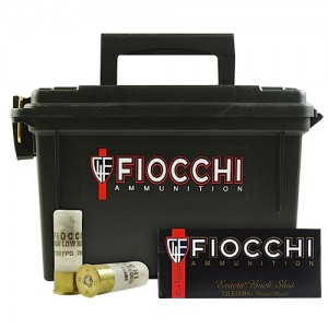 Fiocchi Low Recoil Plano Box 12 Gauge 00 Buck 80rd Ammo
