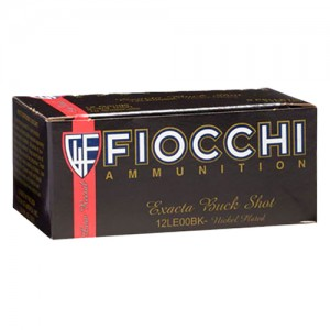Fiocchi Low Recoil 12 Gauge 00 Buck 10rd Ammo
