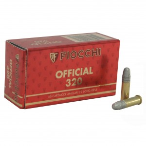 Fiocchi Exacta Super Match 22 Long Rifle 50rd Ammo