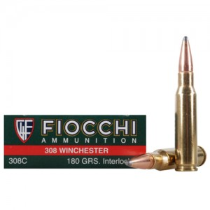 Fiocchi Shooting Dynamics 308 Winchester 20rd Ammo